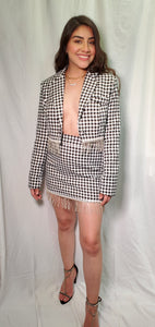 Houndstooth Print Set