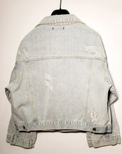 Load image into Gallery viewer, Letters Denim Jacket