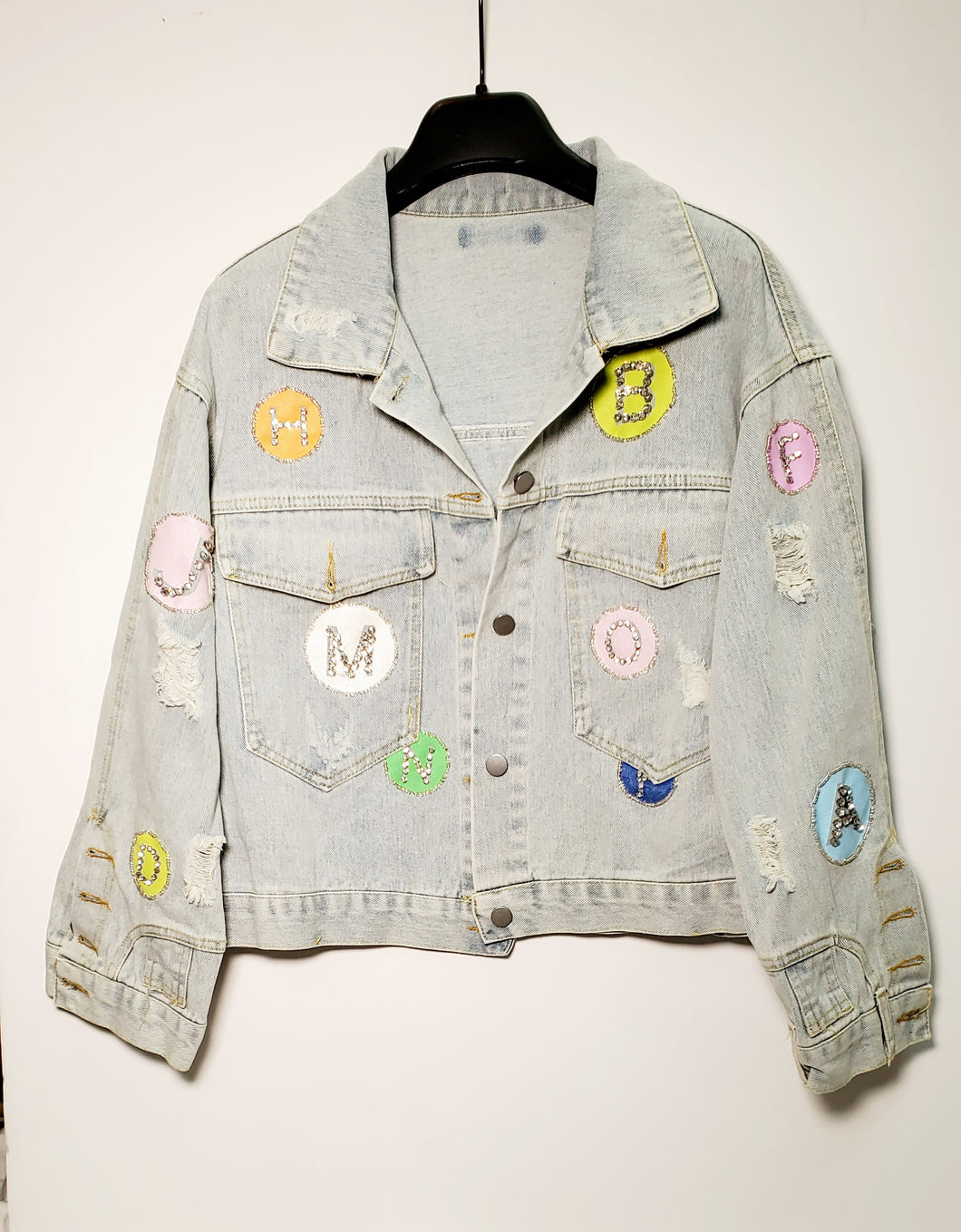 Letters Denim Jacket