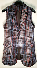 Load image into Gallery viewer, Checkered Vest