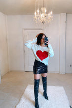 Load image into Gallery viewer, Heart Sweater