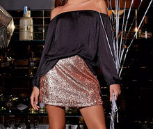 Load image into Gallery viewer, Sequin Skirt