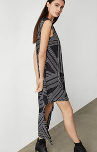 Optic Georgette Dress