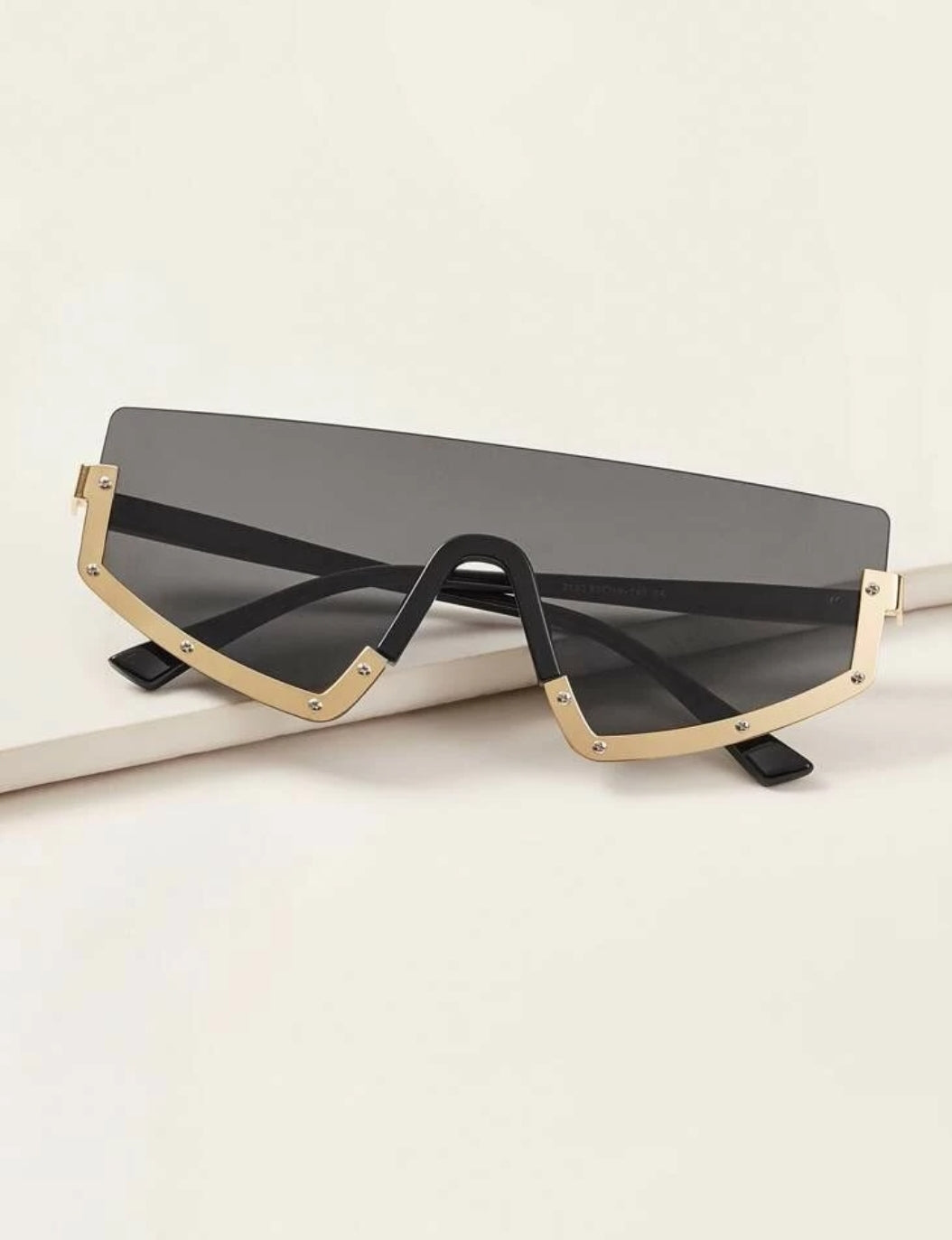 Gold and Black Sunglasses