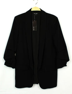 Lined Long Jacket