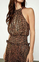 Load image into Gallery viewer, Smoked Bronze-Leopard Dress