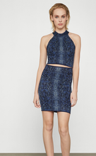 Load image into Gallery viewer, Snake Print Knit Skirt