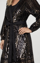 Load image into Gallery viewer, SEQUIN WRAP BCBGMAXAZRIA
