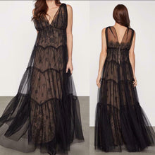 Load image into Gallery viewer, Lace tulle gown BCBGMAXAZRIA