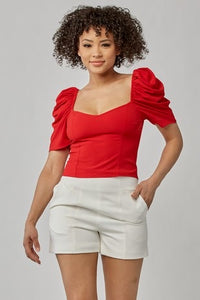 Sweetheart Red Top