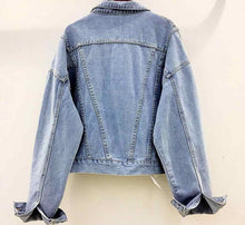 Load image into Gallery viewer, High Low Jean Jacket
