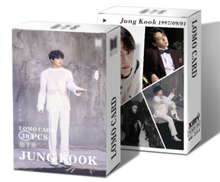 Load image into Gallery viewer, BTS JUNGKOOK 30 PC LOMO CARD