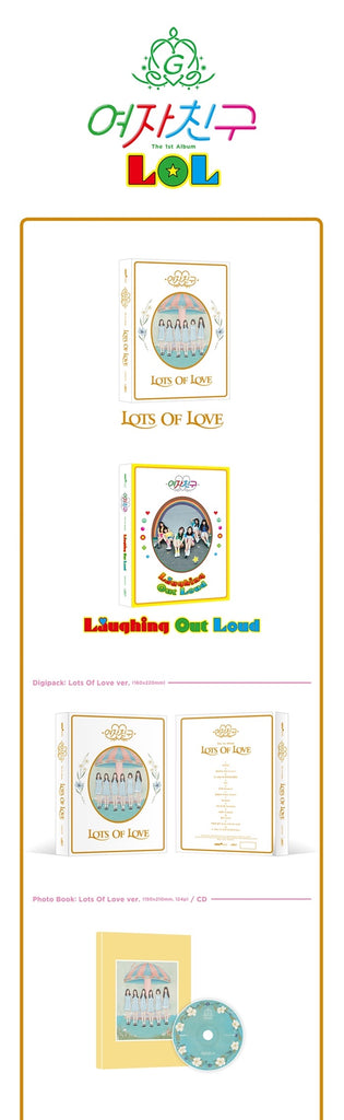 GFRIEND 1ST ALBUM - LOTS OF LOVE (LOL)