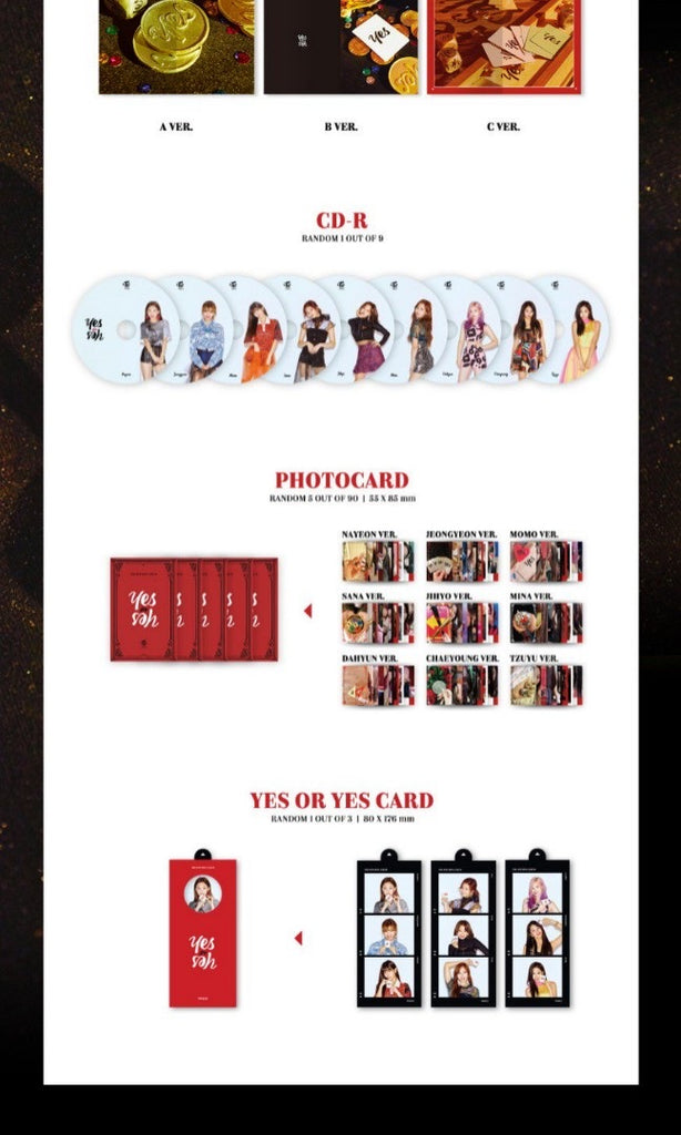 Twice 6th mini album - YES OR YES