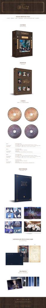 BTS 2019 5th Muster (Magic Shop) BLU-RAY