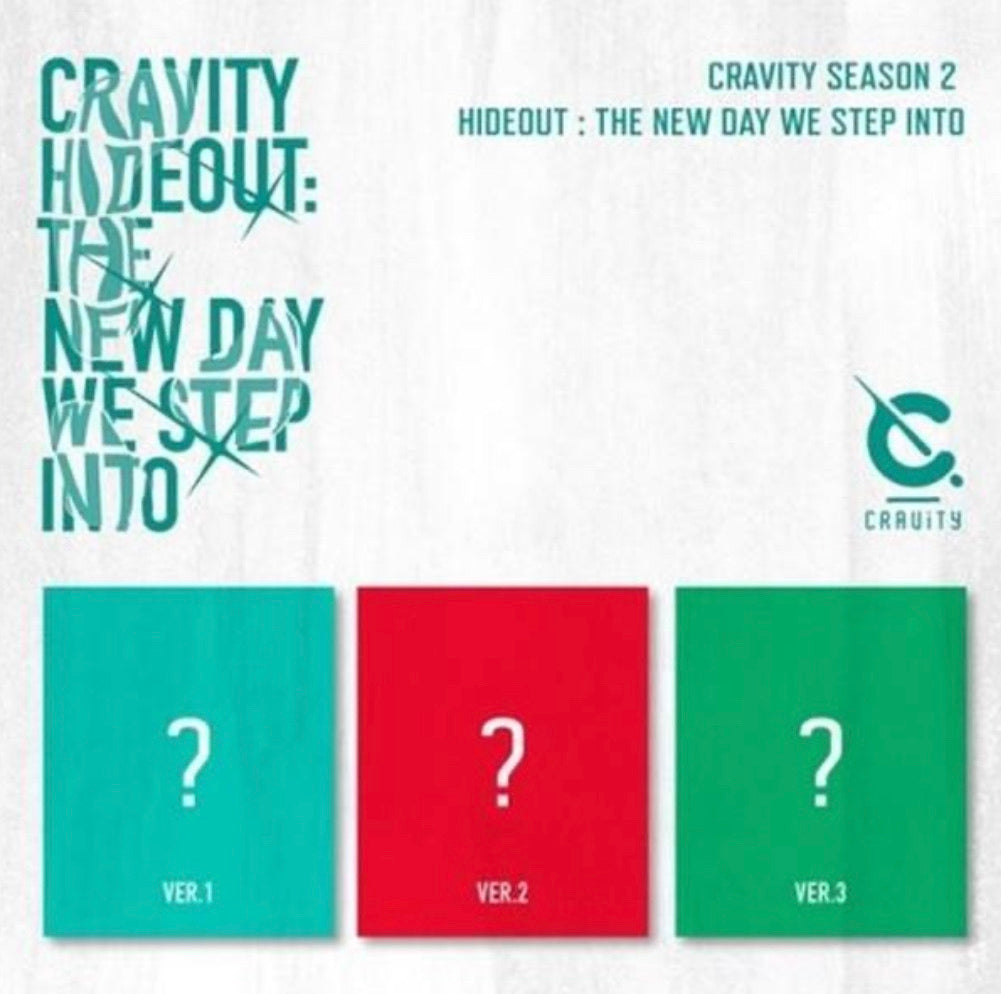 CRAVITY SEASON 2 - HIDEOUT: THE NEW DAY WE STEP INTO