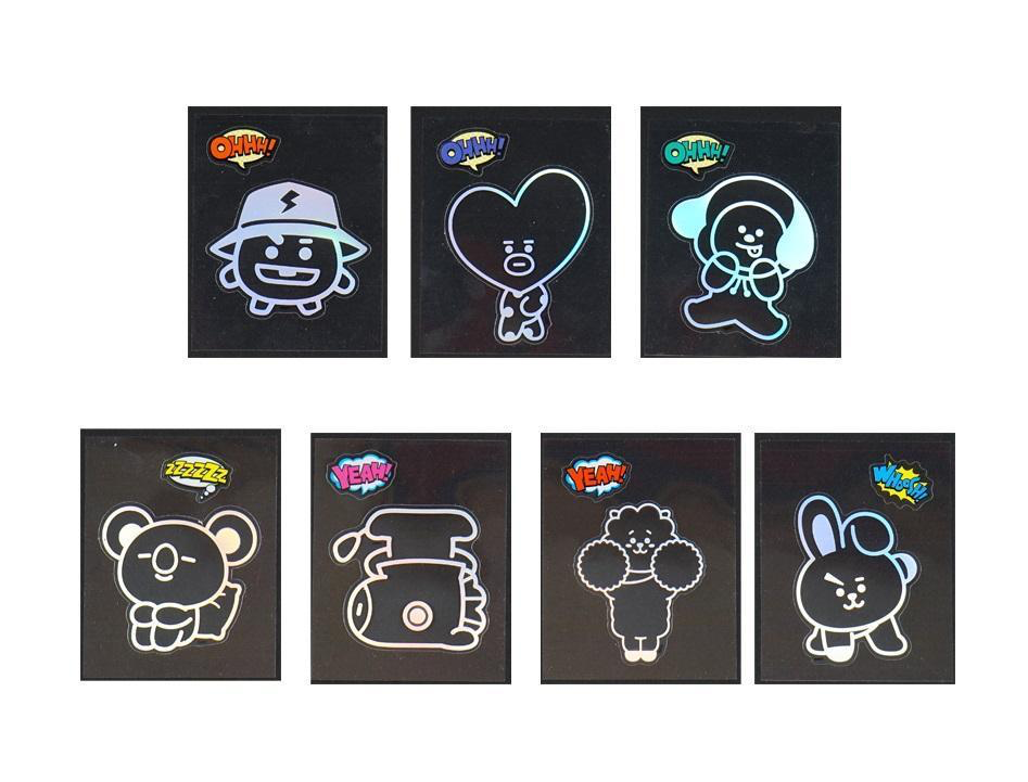 BT21 Shine Sticker