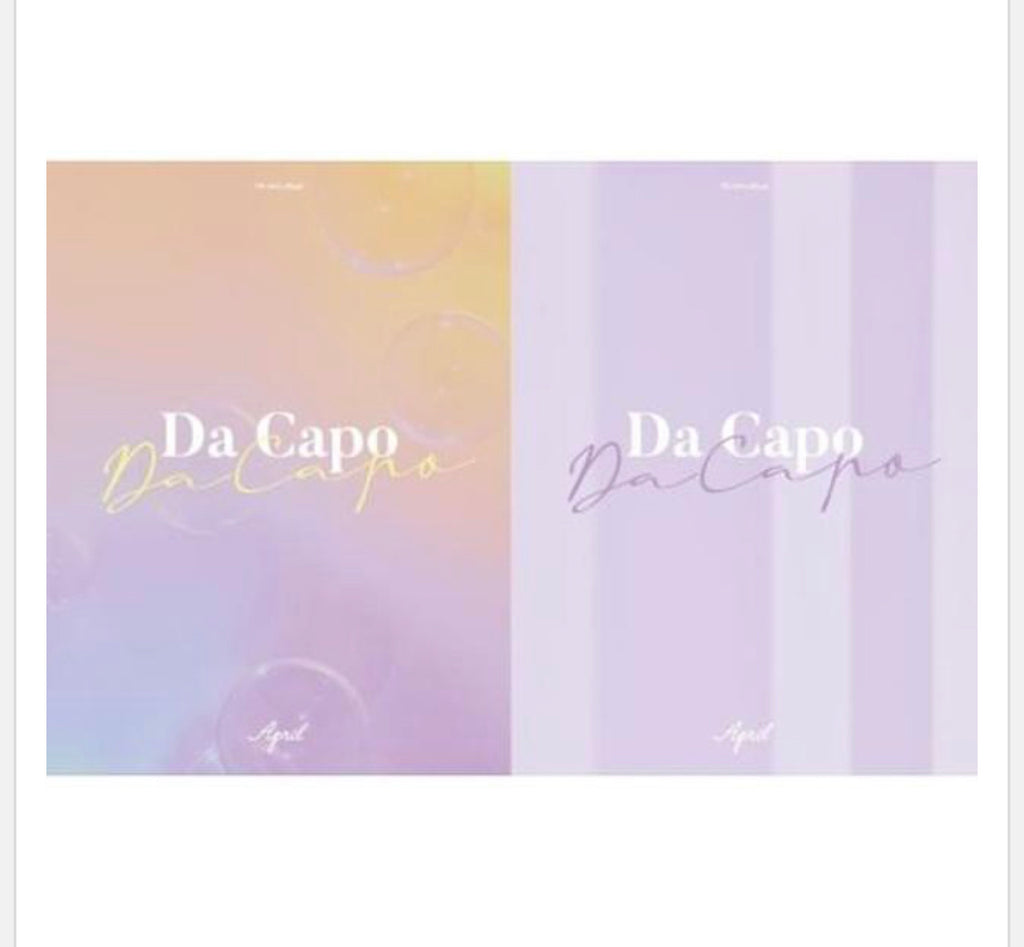 APRIL 7th Mini - Da Capo