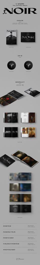 [PRE-ORDER] U-KNOW 2nd Mini Album - NOIR