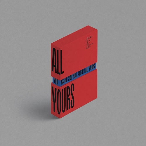 ASTRO 2nd Full Album - ALL YOURS