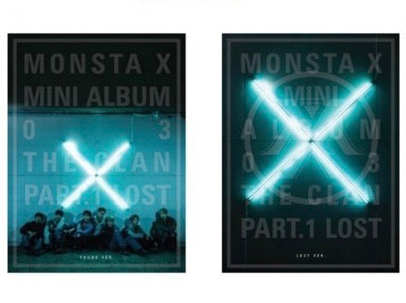 MONSTA X 3RD MINI ALBUM - [THE CLAN 2.5 PART.1 LOST]