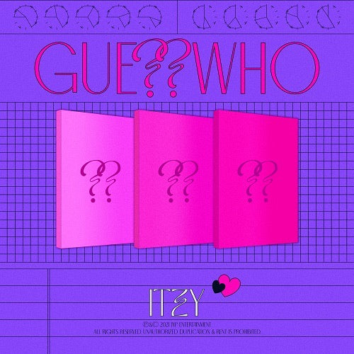 [PRE-ORDER] ITZY - GUESS WHO