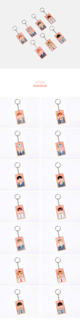 [PRE-ORDER] BTS BANGBANG POP-UP LENTICULAR KEYRING HAPPY EVER AFTER