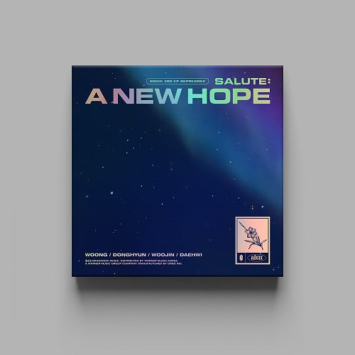 AB6IX 3rd EP REPACKAGED - SALUTE : A NEW HOPE
