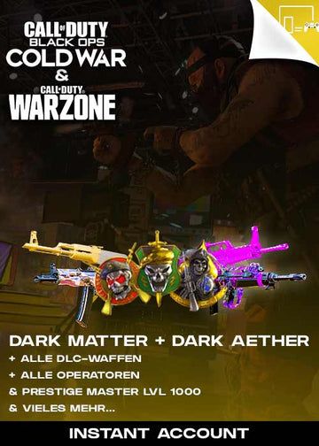 CoD: Cold War / Warzone Dark Matter Ultra + Dark Aether Komplettpaket