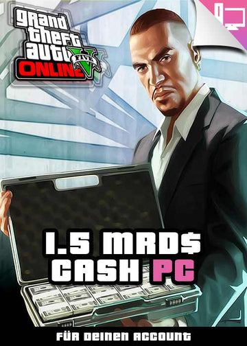GTA 5 - 1.5 Mrd. Cash Boost - PC
