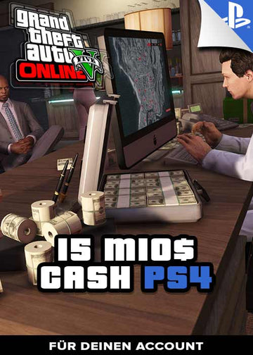 GTA 5 - 15 Mio. Cash Boost - PS4