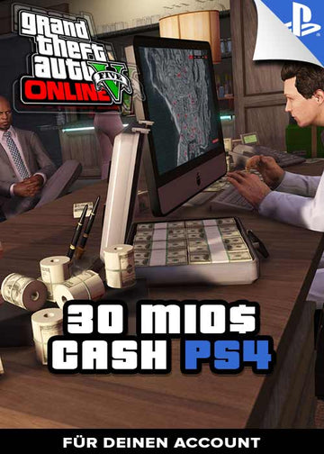 GTA 5 - 30 Mio. Cash Boost - PS4