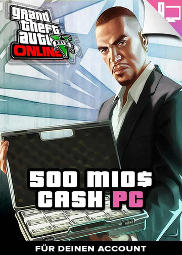 GTA 5 - 500 Mio. Cash Boost - PC
