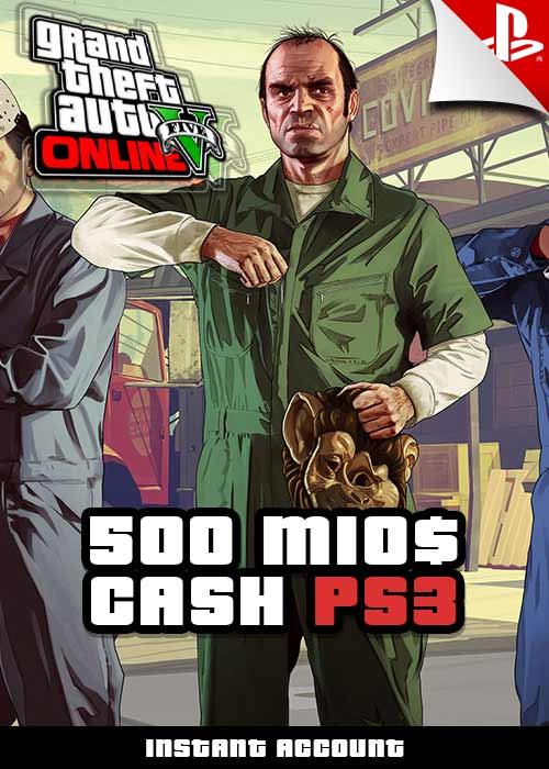 GTA 5 - 500 Mio. Cash Boost - PS3