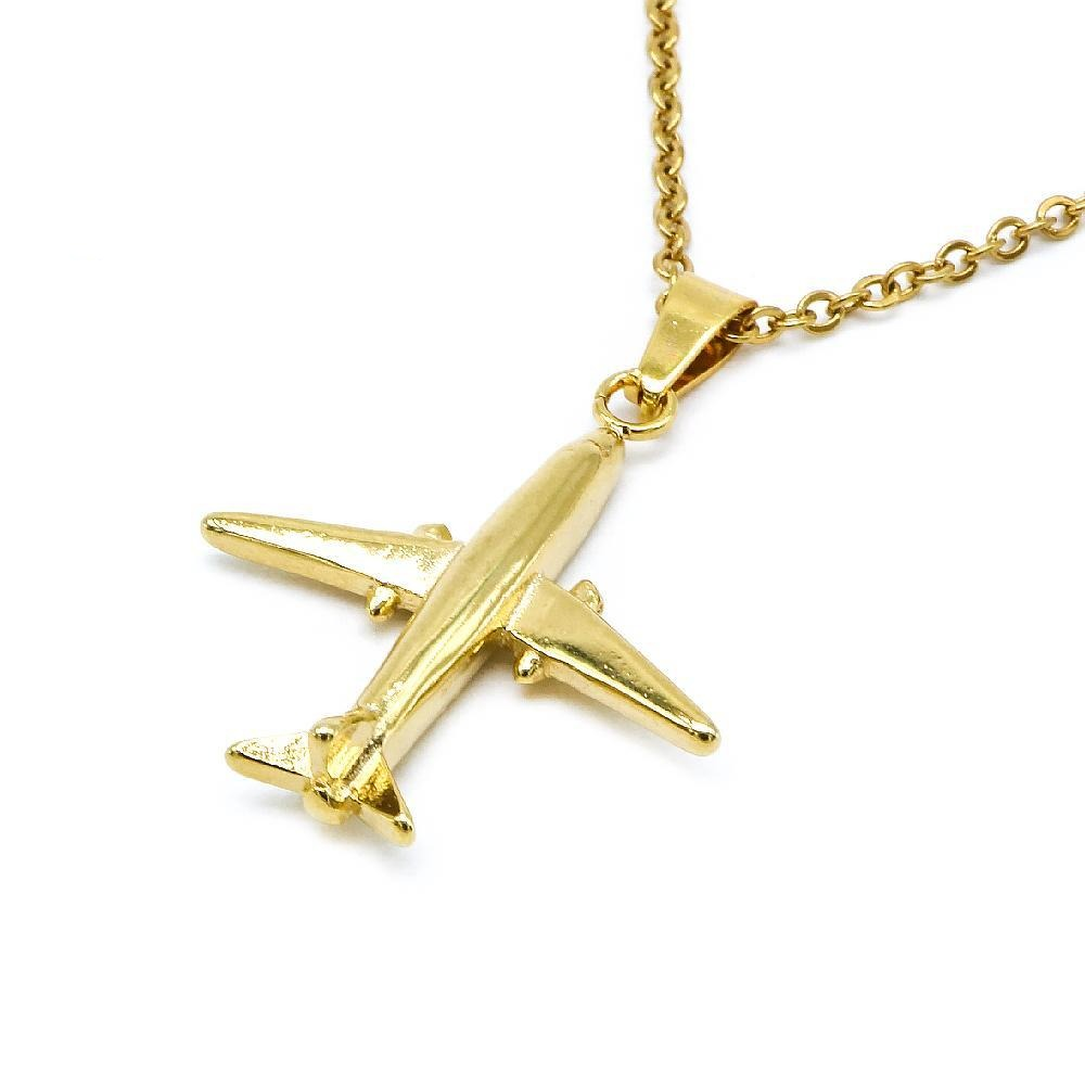 Airplane Design Necklace