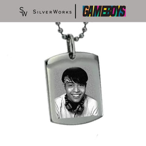 Gameboys Collection Cai Engraved Dogtag Necklace