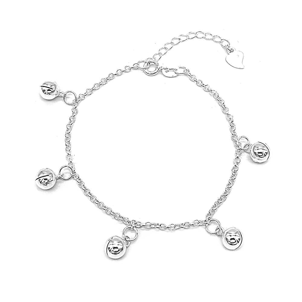 Camilla Silver Bracelet with Ball Charms