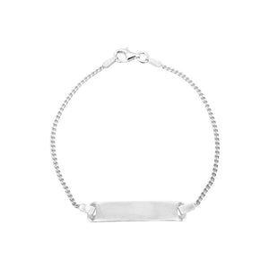 Load image into Gallery viewer, Chase Silver ID Bar Bracelet