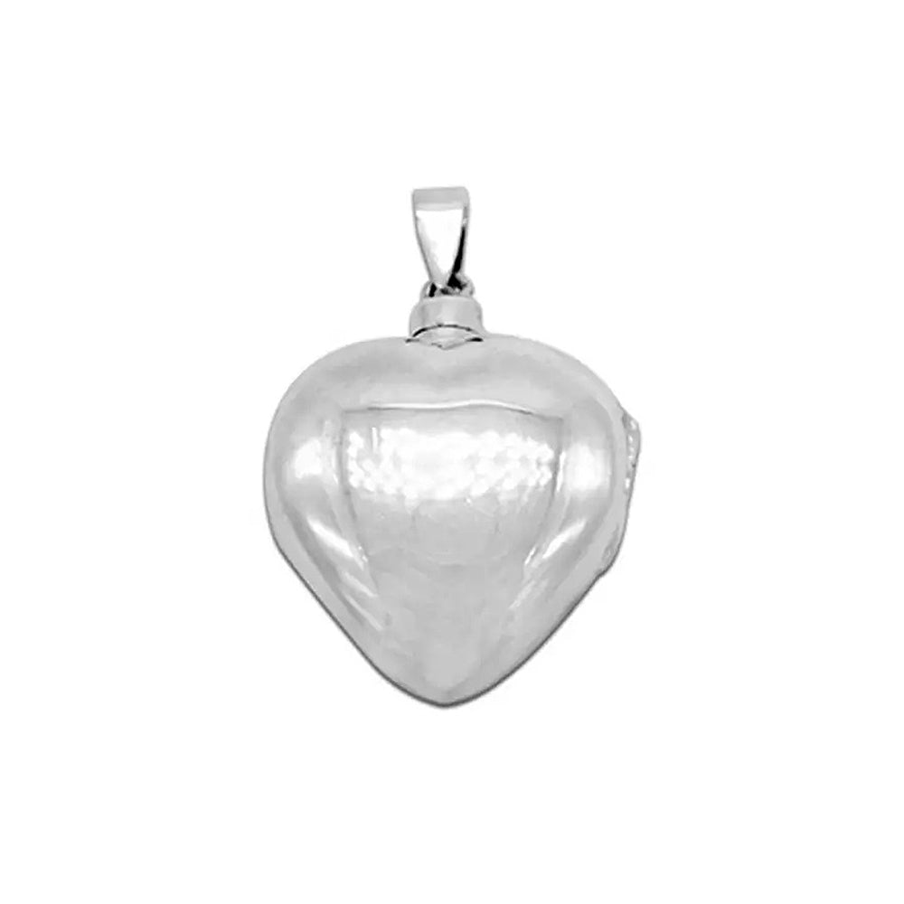 Load image into Gallery viewer, Adriana Silver Heart Design Cremation Pendant