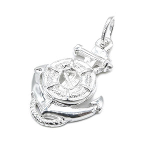 Aimee Silver Floater on Anchor Charm 2