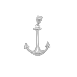 Load image into Gallery viewer, Aleksandra Anchor Silver Charm