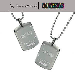 Gameboys Collection DIY Dogtag