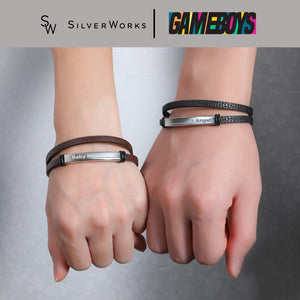 Gameboys Collection Engravable Endearment Bracelet