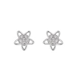 Mariana Silver Rositas Stud Earrings