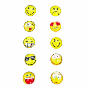 Emoticon Stud Earrings