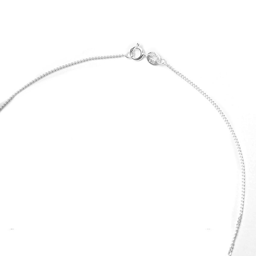 Thin Curb Chain 16 Necklace