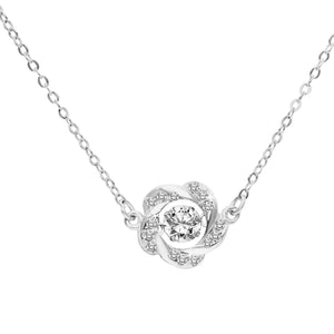 Harrey Dancing Gem Flower Necklace