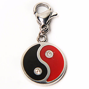 Black&Red YinYang Charm