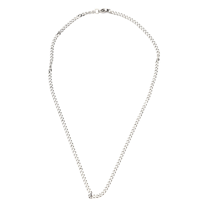 Medium Thick Curb Chain Necklace