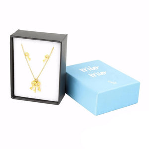 Load image into Gallery viewer, Key Earrings and Necklace Set